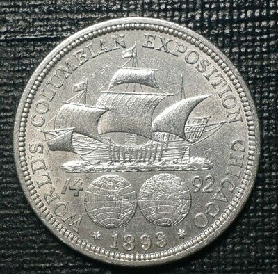 United States 1893 Columbian Exposition half dollar
