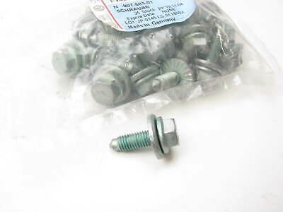 10x Radiator Support /& Splash Shield Push-On Retainers N90-796-501for VW