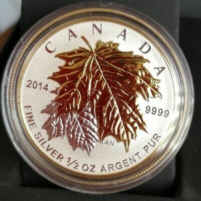 2014 Canada $4 1/2 oz Fine Silver Fractional Set - The Maple Leaf