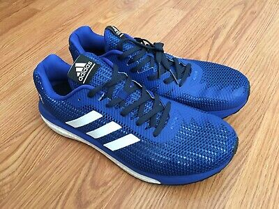 NEW!! ADIDAS MEN'S Vengeful Boost Blue White Running Shoe Size 11.5 BB3639