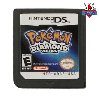 Pokemon Diamond version New Game Card for 3DS NDSI NDS NDSL Gifts US