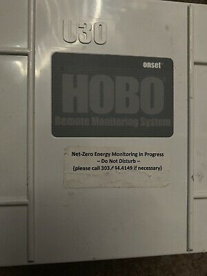 Onset U30-WIF-000-10-S100-003 HOBO U30 WiFi Data Logger, No Sensor Ports - AD