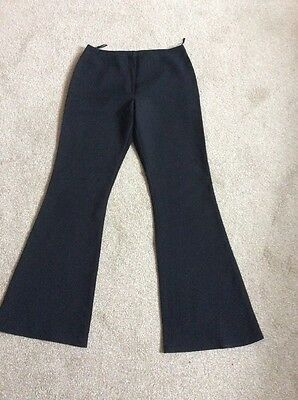 Girls Black '915 New Look' Polyester Trousers  Size Height 158