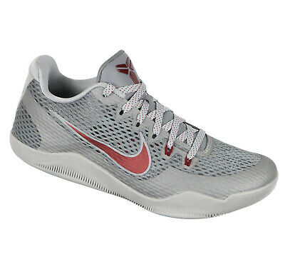 nouvelle collection 6baa3 e4344 NIKE KOBE XI Chaussures de Basketball Taille 8 Bas Merion Edition Cool Gris  Red
