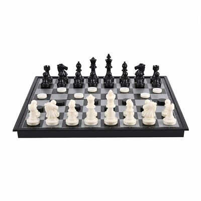 Magnetic Portable folding chess board high Quality Games sport camping travel UK