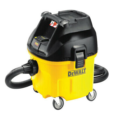 Dewalt DWV901 240V Wet & Dry Dust Extractor 30 Litre Vacuum Cleaner 1400 W