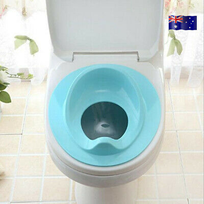 Kids Toddler Baby Toilet Plastic Bathroom Potty Training Seat Cover Trainer AU