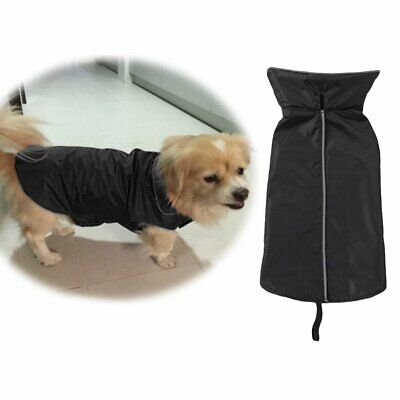 Puppy Dog Raincoat Waterproof Outdoor Jacket Coat Reflective Safe S/M/L