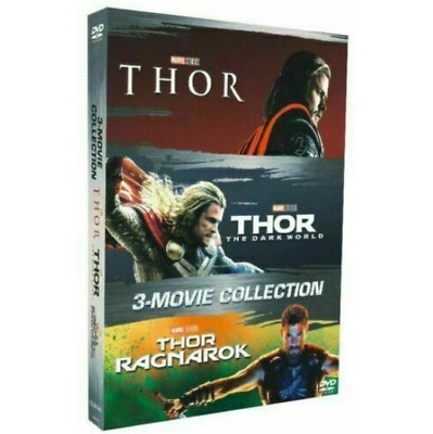THOR Trilogy 3 Film Movie Collection Thor 1-3 (3 - DVD Box Set) Sealed New