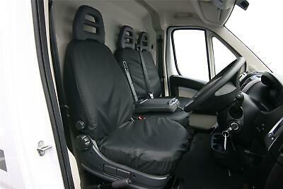 Seat Cover Front TAILORED WATERPROOF fits Boxer Fiat Ducato Citroen Relay