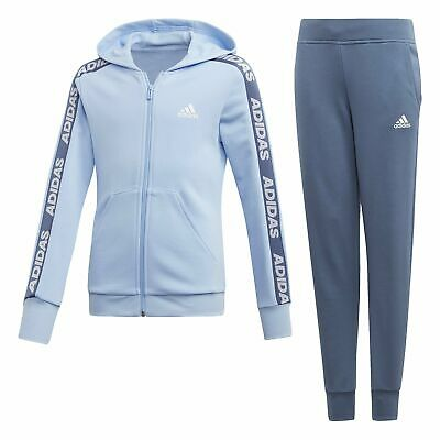 adidas Hd Cot Tracksuit Infant Girls - Blue/Navy