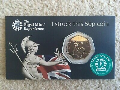2019 Royal Mint Strike Your Own britannia 50p Coin limited edition