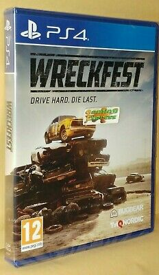 Wreckfest Banger Racing Playstation 4 PS4 NEW SEALED Free UK p&p IN STOCK NOW