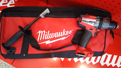 Trapano A Percussione Milwaukee M18Fpd + Impugnatura Laterale +Borsa Milwaukee