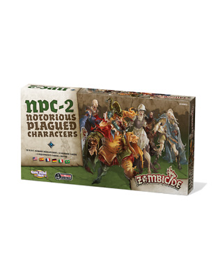 Zombicide Black Plague: Notorius Plagued Characters 02 (Multiidioma)