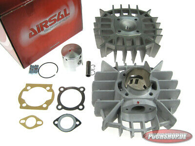 Airsal / Eurokit 74ccm Zylinder (47mm) 8P!! Cylinder Puch Maxi E50 Mofa Moped