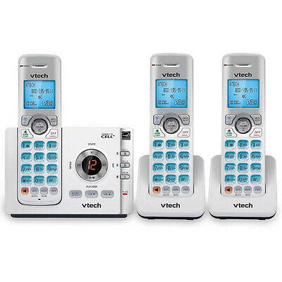 vtech 3 Handset Connect to Cell™ Answering System with Caller ID/Call Waiting