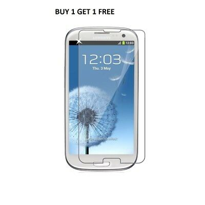 100% Real Samsung Galaxy S3 Genuine Gorilla Tempered Glass Film Screen Protector