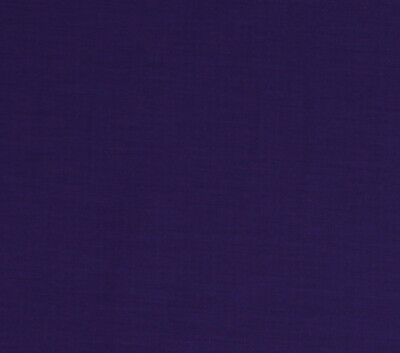 """Liberty Broadcloth Purple 45"""" Wide Polyester/Cotton Fabric by the Yard (D147.28)"""