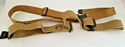 WWII US M1 GARAND RIFLE CANVAS CARRY SLINGS-OD#3, lot of 2