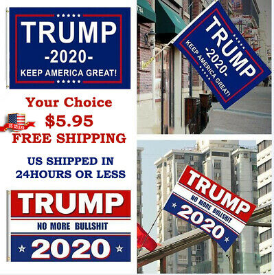 Trump 2020 Keep America Great President MAGA Make America Great 3x5 Ft Flag US