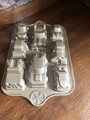 Motor Vehicle Cake Muffin BakingTin Mould. Classic Car Truck American Kids Party