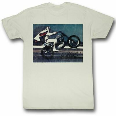 Evel Knievel Live Natural T-Shirt