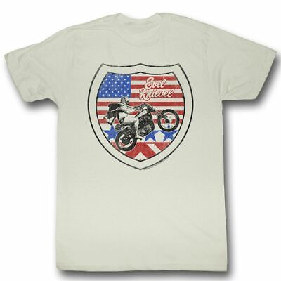 Evel Knievel Interstate Natural T-Shirt