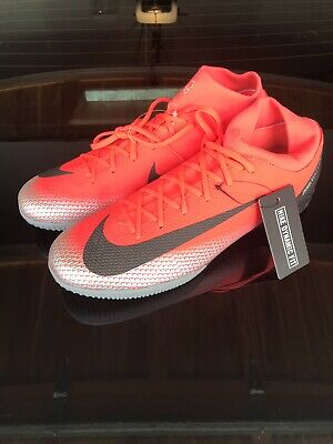 online store 0e46b 396ed Nike Mercurial Superfly 6 Academy CR7 TF AJ3568-600 Soccer Turf Shoes Size  10.5