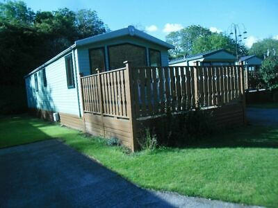 Swift Moselle Static Caravan Sited Eden Valley Cumbria