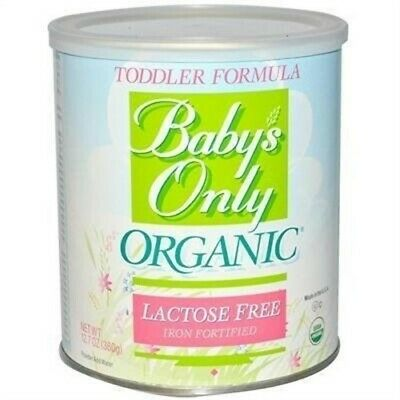 Baby'S Only Organic Toddler Form Og2 Lac Free 12.7 Oz 2 Pack