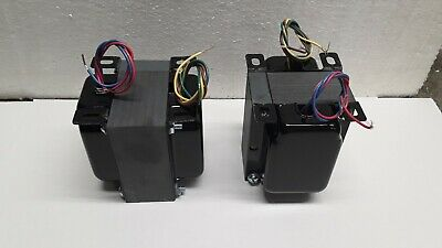 Pair of Interstage transformers, SE to p-p grids