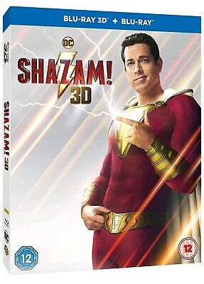 Shazam (Bluray 3D) Includes 2D Bluray