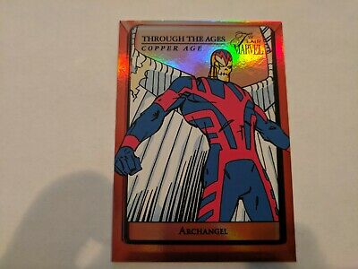 2019 Upper Deck Marvel Flair Through The Ages Copper Age Archangel TTAC-24