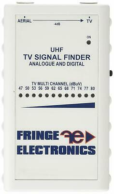 Fringe Electronics Aerial TV Terrestrial Signal Meter Finder for Home or Caravan