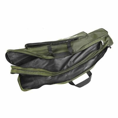 Fishing Pole Rod Reel Storage Bag Case Carrier Tool Oxford Foldable Tackle Shoul