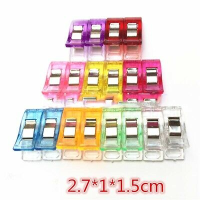 Plastic Quilter Holding Wonder Clips Clamps Sewing Quilt Binding High Quality