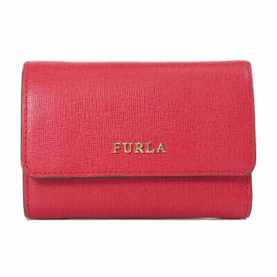 Furla   Bifold Wallet with Coin Pocket Logo motif Leather