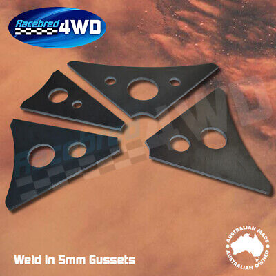 Laser Cut Weld In 5mm Thick 150mm  Length Gusset Style 1