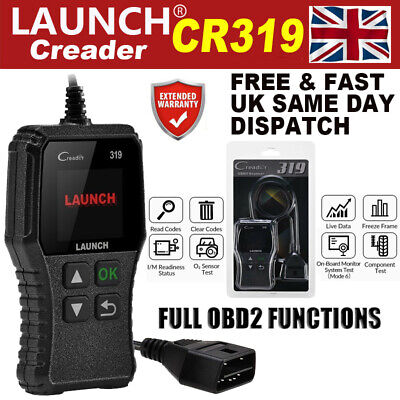 HOT LAUNCH Scan Tool OBD2 Scanner Car Fault Code Reader Diagnostic Service Reset