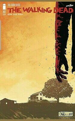 The Walking Dead 193 First Print Final Issue Robert Kirkman Nm Sold Out