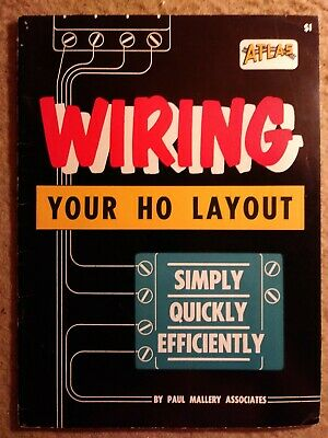 Vintage 1958 electrical manual Wiring Your Ho Layout by Paul Mallery Associates