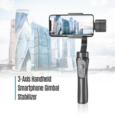 Portable 3-Axis Handheld Gimbal Stabilizer for iPhone Samsung Huawei Smartphones