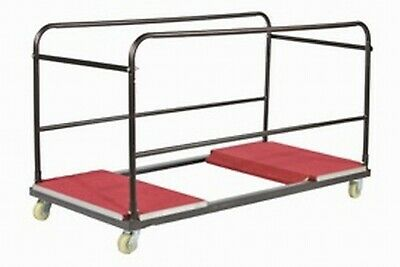 Trolley for Round Banqueting Tables. Heavy Duty Commercial Trolley Transporter