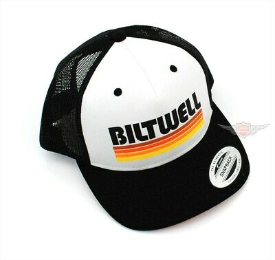 Biltwell Trucker Biker Base Cap Baseball Cap BMX Black One Size Motorrad Rock