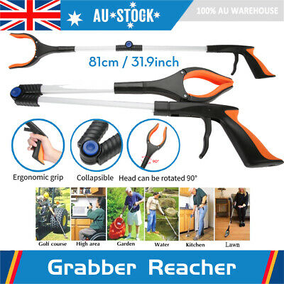 Collapsible Grabber Reacher Rotatable Gripper Mobility Aid Assist Tool