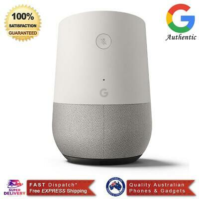 New Google Home Smart Assistant - White Slate (Australia Stock) - Free Post