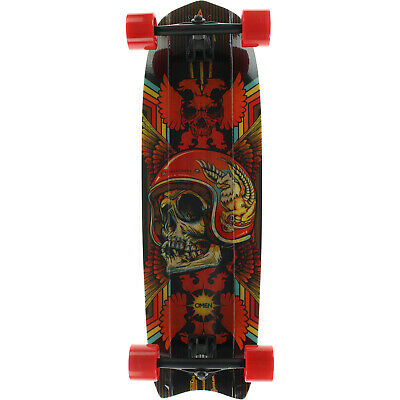 "Street Surfing SHARK ATTACK Skateboard Casterboard Surf Carving Cruiser 9/"" x 30/"""