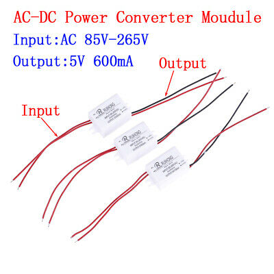 AC-DC Power Supply Module AC 0.3A 3W 220V  to DC  5V 12V 24V Mini Converter~PL
