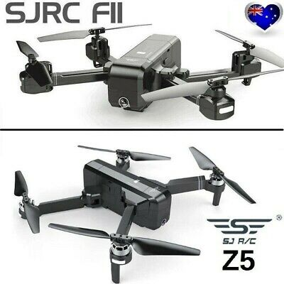 SJRC F11/Z5 Foldable Brushless GPS Drone 5G WiFi FPV 1080P Camera Quadcopter AU